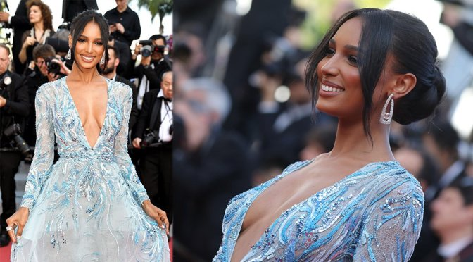 "Jasmine Tookes – ""The Traitor"" Premiere in Cannes"