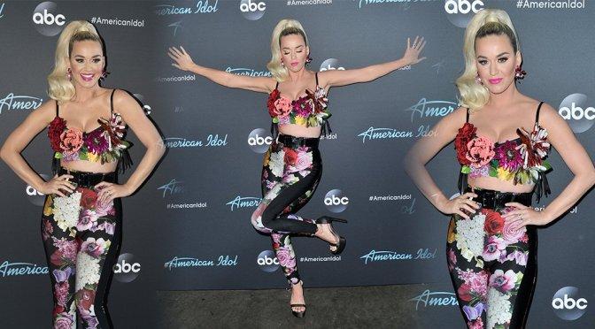 Katy Perry – American Idol Top 5 Show in Los Angels
