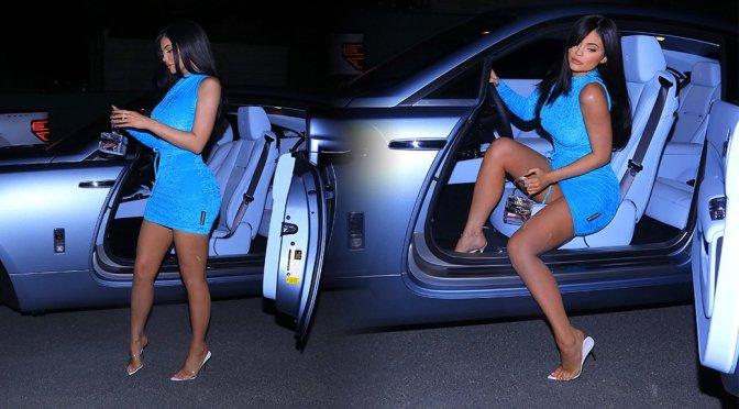 Kylie Jenner – Leggy Candids in Calabasas