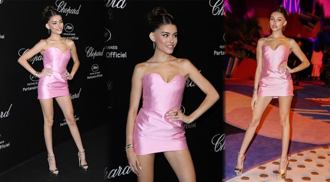 Madison Beer – Sexy Legs at Chopard Party in Cannes