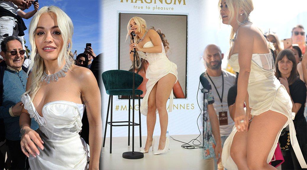"Rita Ora - ""MAGNUM x Rita Ora"" Photocall in Cannes"