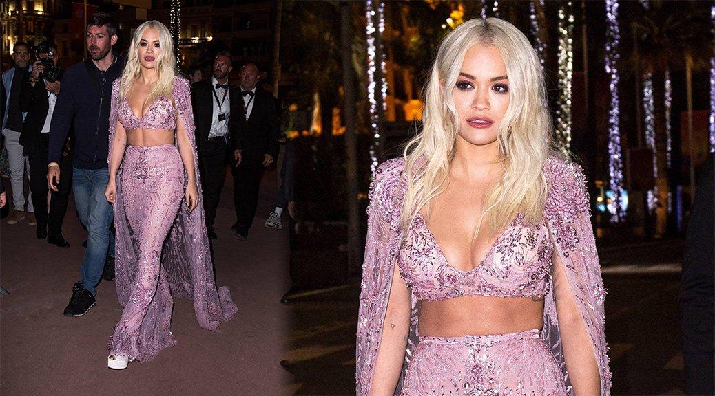 Rita Ora - Magnum Beach Party in Cannes