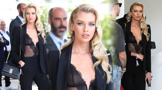 Stella Maxwell – Sexy Candids in Cannes