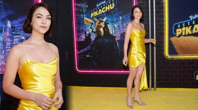 "Violett Beane – ""Pokemon: Detective Pikachu"" Premiere in New York"