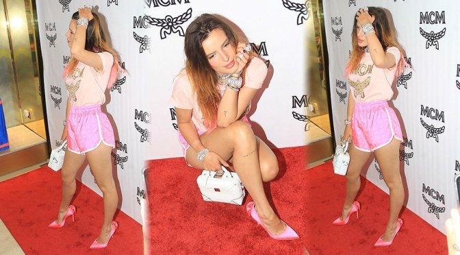 Bella Thorne – MCM Pride Event in Beverly Hills