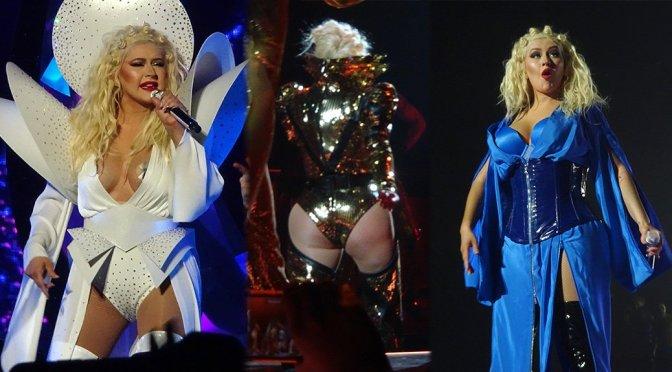 "Christina Aguilera – ""Christina Aguilera: The Xperience"" GRAND OPENING in Las Vegas"
