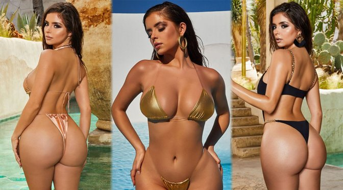 Demi Rose Mawby Sexy Curvy Body In Hot Bikini Photoshoot