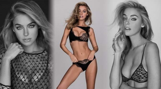 Elizabeth Turner – Sexy Lingerie Photoshoot by Nick Suarez