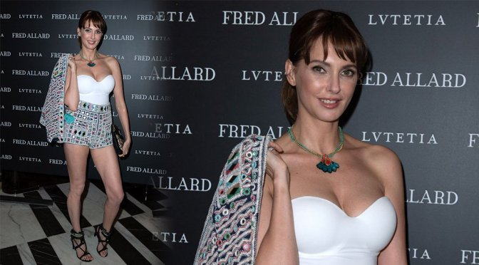 Frederique Bel – Fred Allard x Lvutetia Exhibition Opening in Paris