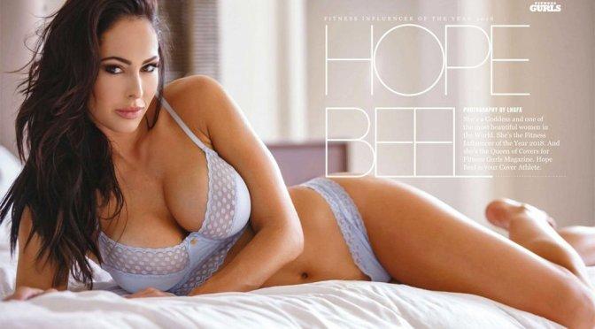Hope Beel – Fitness Gurls Magazine Lingerie Photoshoot