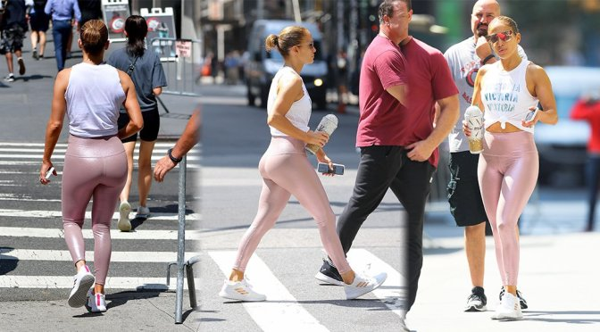 Jennifer Lopez - Sexy Big Ass in New York