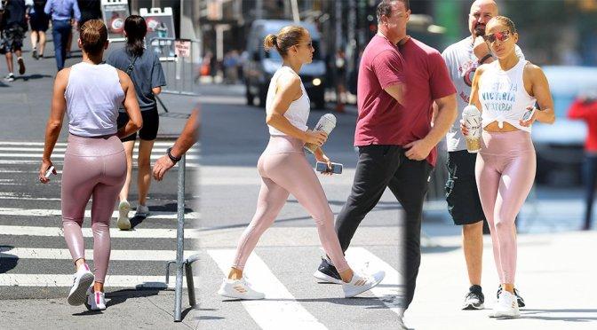 Jennifer Lopez – Sexy Big Ass in New York
