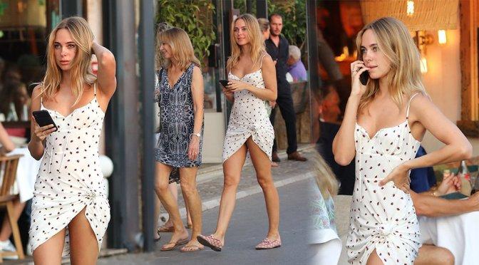 Kimberley Garner – Sexy Candids in Saint-Tropez