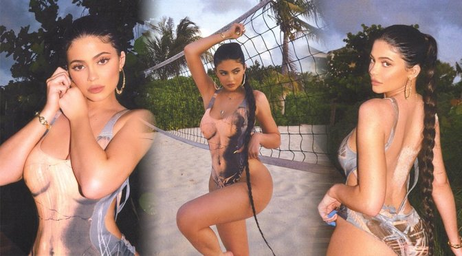 Kylie Jenner – Sexy Swimsuit Photoshoot