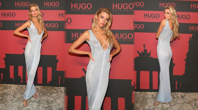 Stella Maxwell – HUGO Launch Party in Berlin