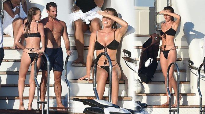 Georgia Gibbs – Bikini Candids in Porto Cervo