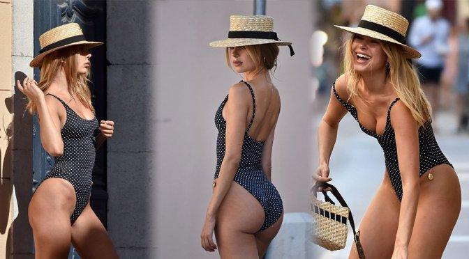 Kimberley Garner – Swimsuit Photoshoot Candids in St. Tropez