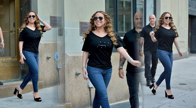 Mariah Carey – Sexy Candids in New York