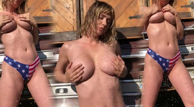 Sara Underwood Sexy Topless Boobs