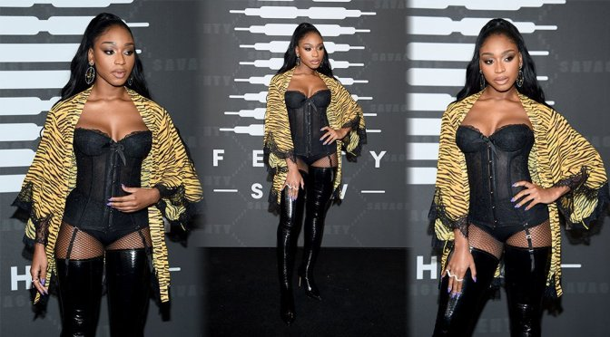 Normani Kordei – Savage X Fenty Show Presented By Amazon Prime Video in Brooklyn