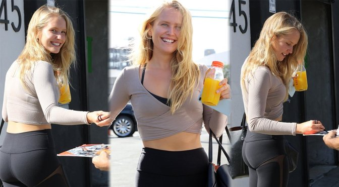 Sailor Brinkley-Cook – Sexy Candids in Los Angeles