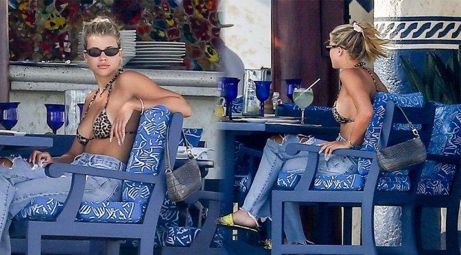 Sofia Richie – Bikini Candids in Cabo San Lucas