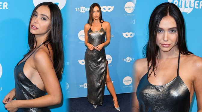 Alexis Ren – UNICEF Masquerade BAll in West Hollywood