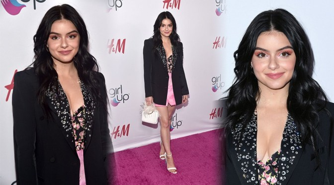 Ariel Winter – Braless Boobs at 2nd Annual Girl Up #GirlHero Awards in Beverly Hills