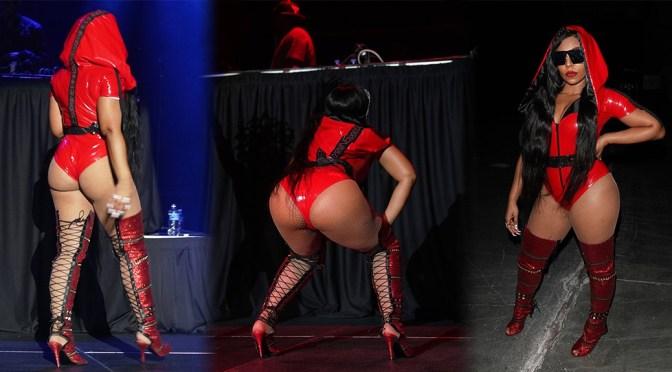 Ashanti – Sexy Big Ass at Nightmare On Q Street In Las Vegas