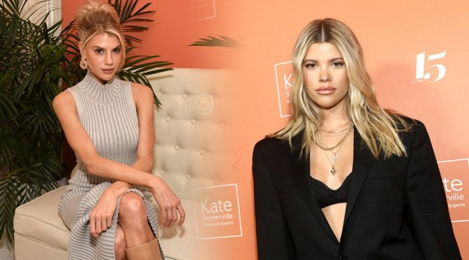Charlotte McKinney & Sofia Richie – Kate Somerville Clinic 15 Years On Melrose Celebration in Los Angeles