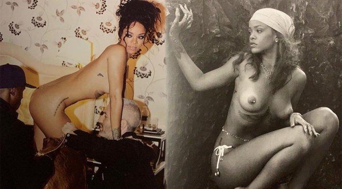 Rihanna Topless Photoshoot