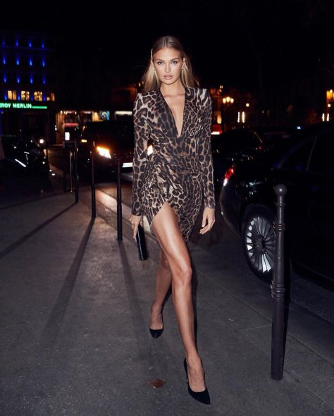 Romee Strijd Beautiful And Leggy