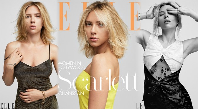 "Scarlett Johansson – Elle Magazine ""Women in Hollywood"" Photoshoot (November 2019)"