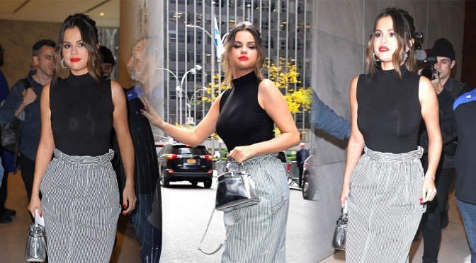 Selena Gomez – Sexy Candids at SiriusXM Studios in New York