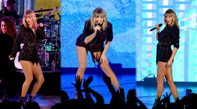 Taylor Swift – Leggy at AT&T's We Can Survive Concert in Los Angeles