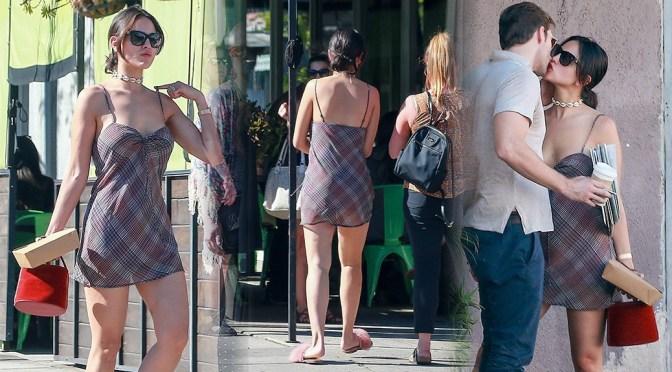 Eiza Gonzalez Leggy In Small Dress