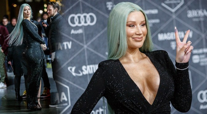 Iggy Azalea – Sexy Cleavage and Big Ass at International Music Awards 2019 in Berlin