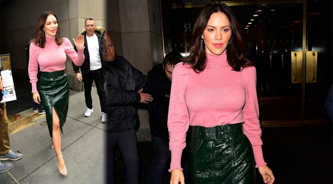 """Katharine McPhee – Busty at """"The Today Show"""" in New York"""