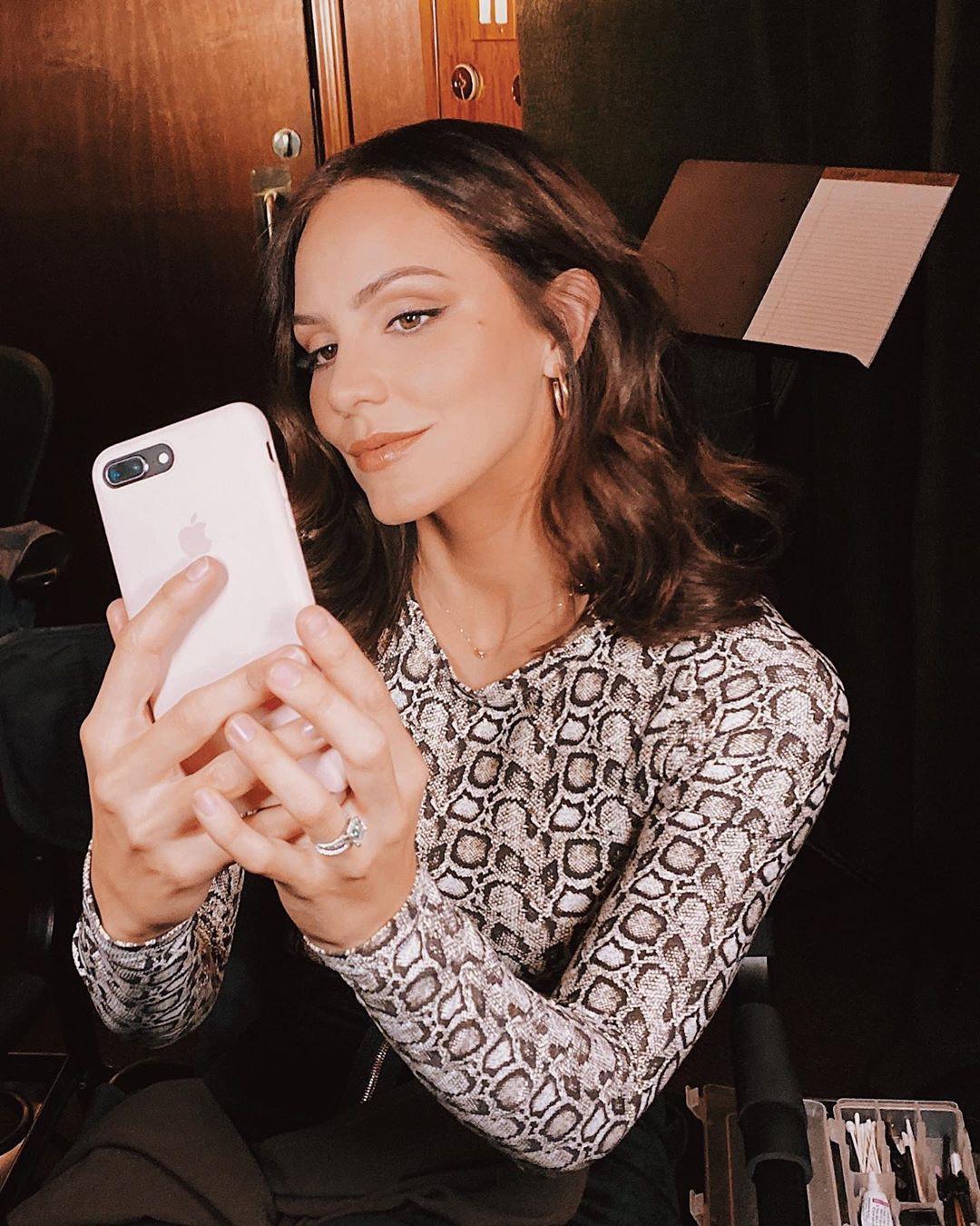 Katherine Mcphee Beautiful Selfie
