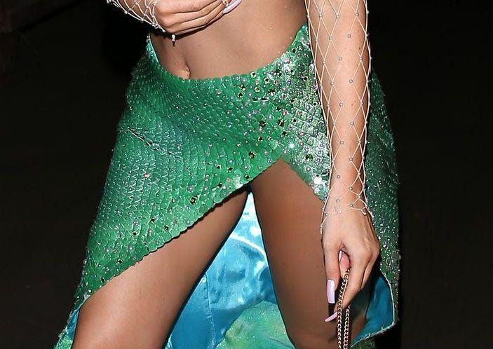Kylie Jenner Big Boobs Ariel Mermaid