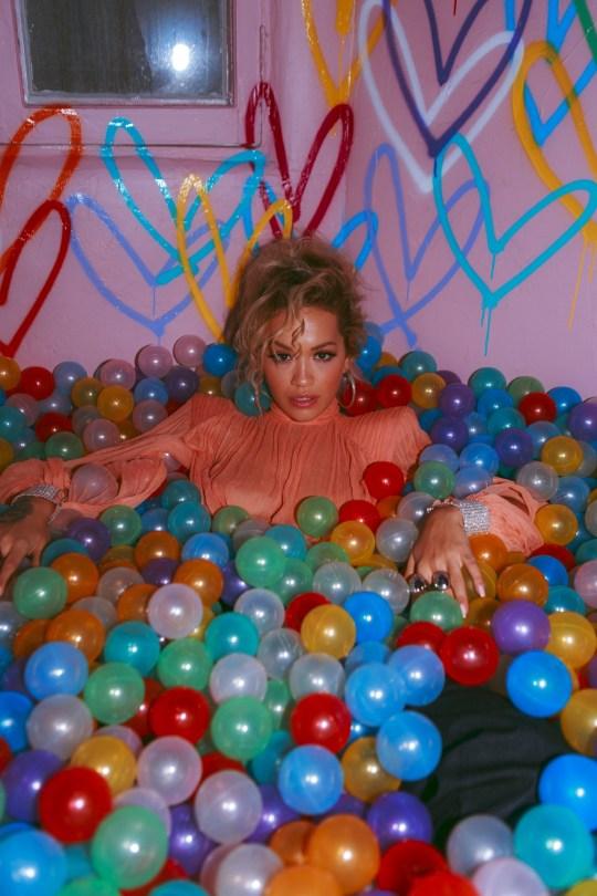 Rita Ora Braless Big Boobs
