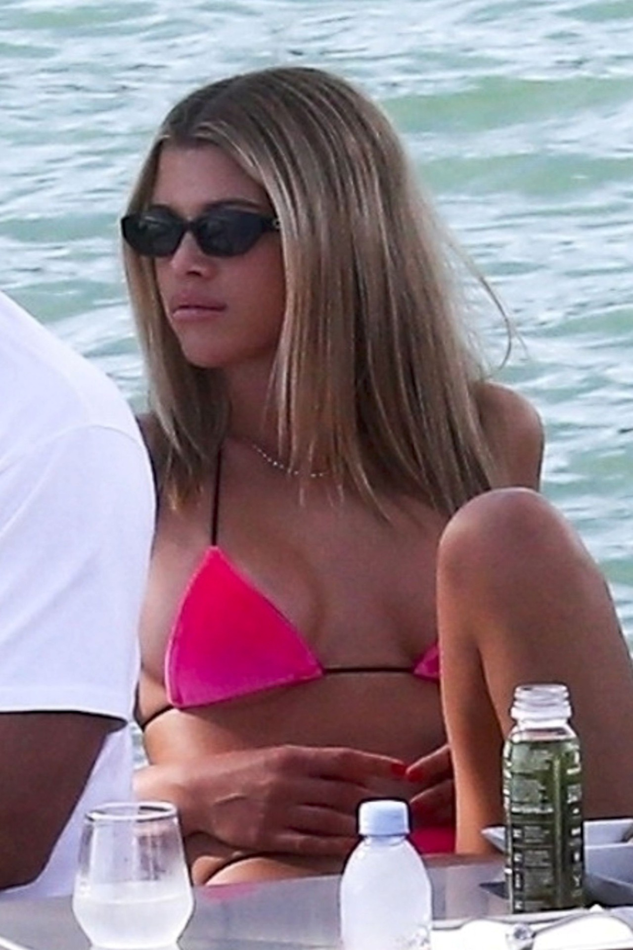 Sofia Richie Sexy Bikini Boobs