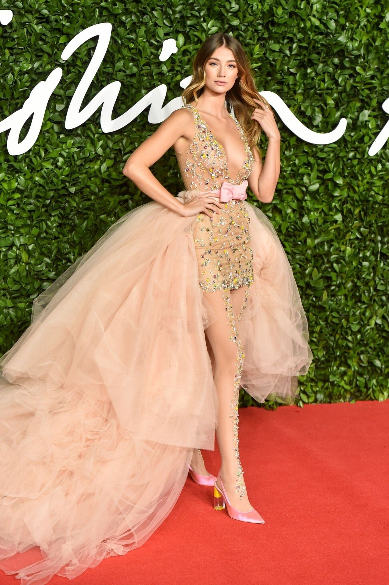 Lorena Rae Braless See Through Dress