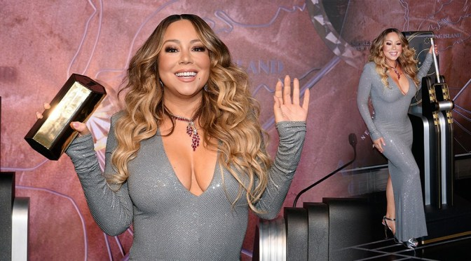 Mariah Carey – – Sexy Big Boobs at Empire State Building in New York