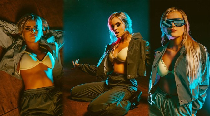 "Mia Diaz – Sexy in Bra ""RITMO"" Promo Photoshoot"