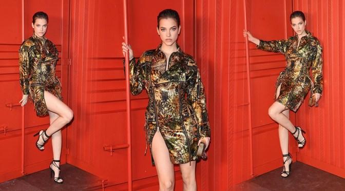 Barbara Palvin – Beautiful Legs at Dsquared2 Fashion Show in Milan