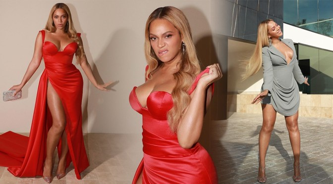 Beyonce Knowles – BIg Boobs and HOt Legs in Sexy Photoshoot