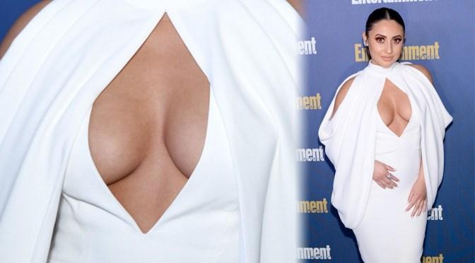 Francia Raisa – Big Sexy Cleavage at Entertainment Weekly Celebrates SAG Award Nominees in Los Angeles