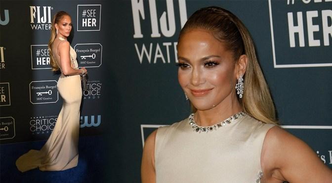 Jennifer Lopez Sexy Ass In Beautiful Dress