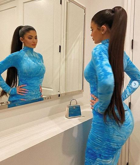 Kylie Jenner Tight Dress